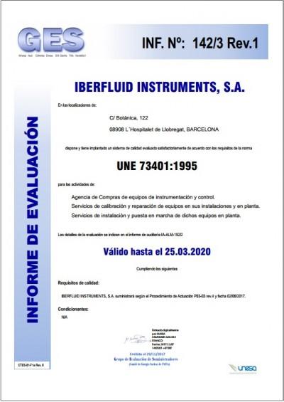 Informe de evaluación Centrales Nucleares