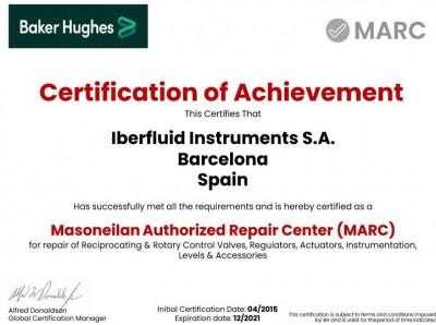 Certificado MARC