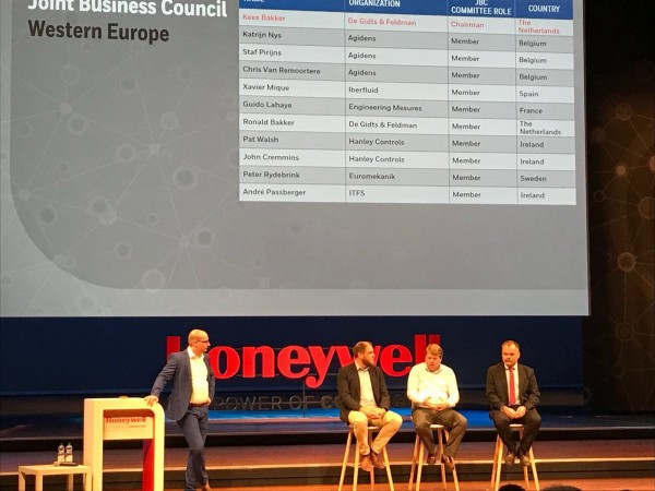 Iberfluid participa en la conferencia EMEA 2017 Honeywell Users Group
