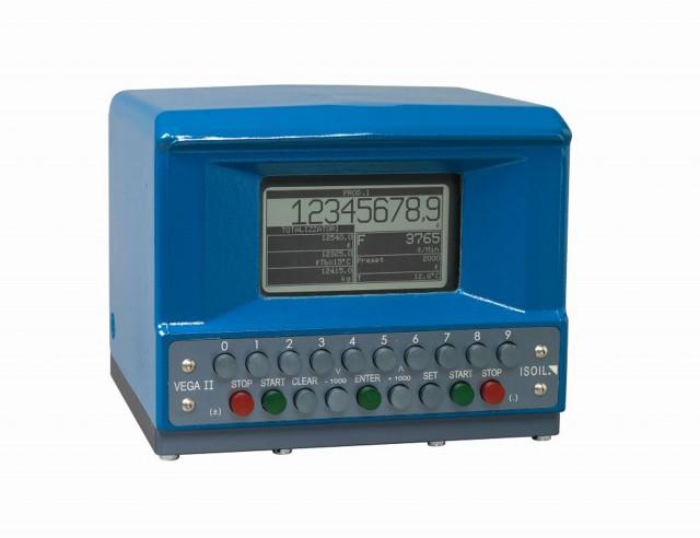 Cabezales electronicos para un brazo de carga / Mezcla en linea
