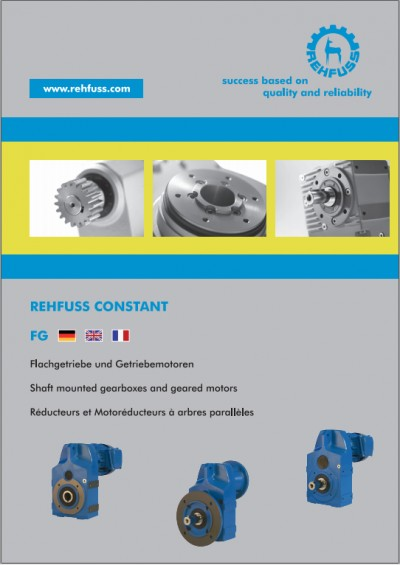 Shaft mounted gearboxes and geared motors (FG)