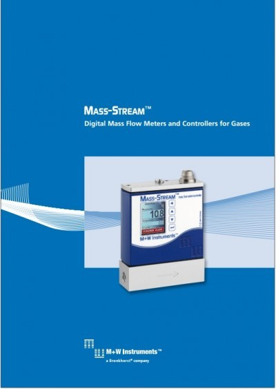 Digital Mass Flow Meters and Controllers for Gases