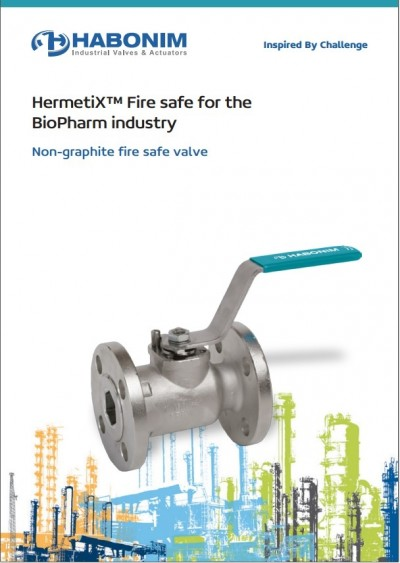 HermetiX™ Fire safe for the  BioPharm industry