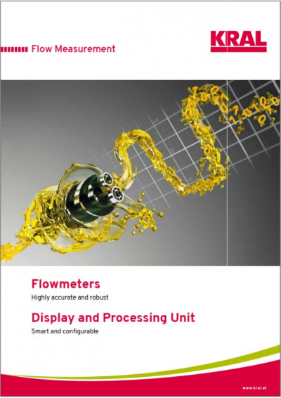 Flowmeters - Display and Processing Unit