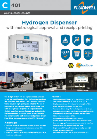Application note Hydrogen