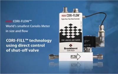 mini CORI FLOW with shut off valve