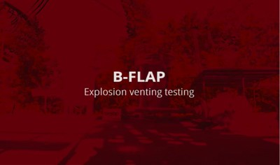 B-FLAP Explosion venting testing