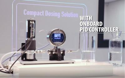 Medidor/ controlador de caudal de líquidos ultrasónico ES-FLOW™